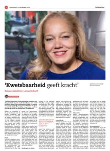 Stadsdichter Larissa Verhoeff